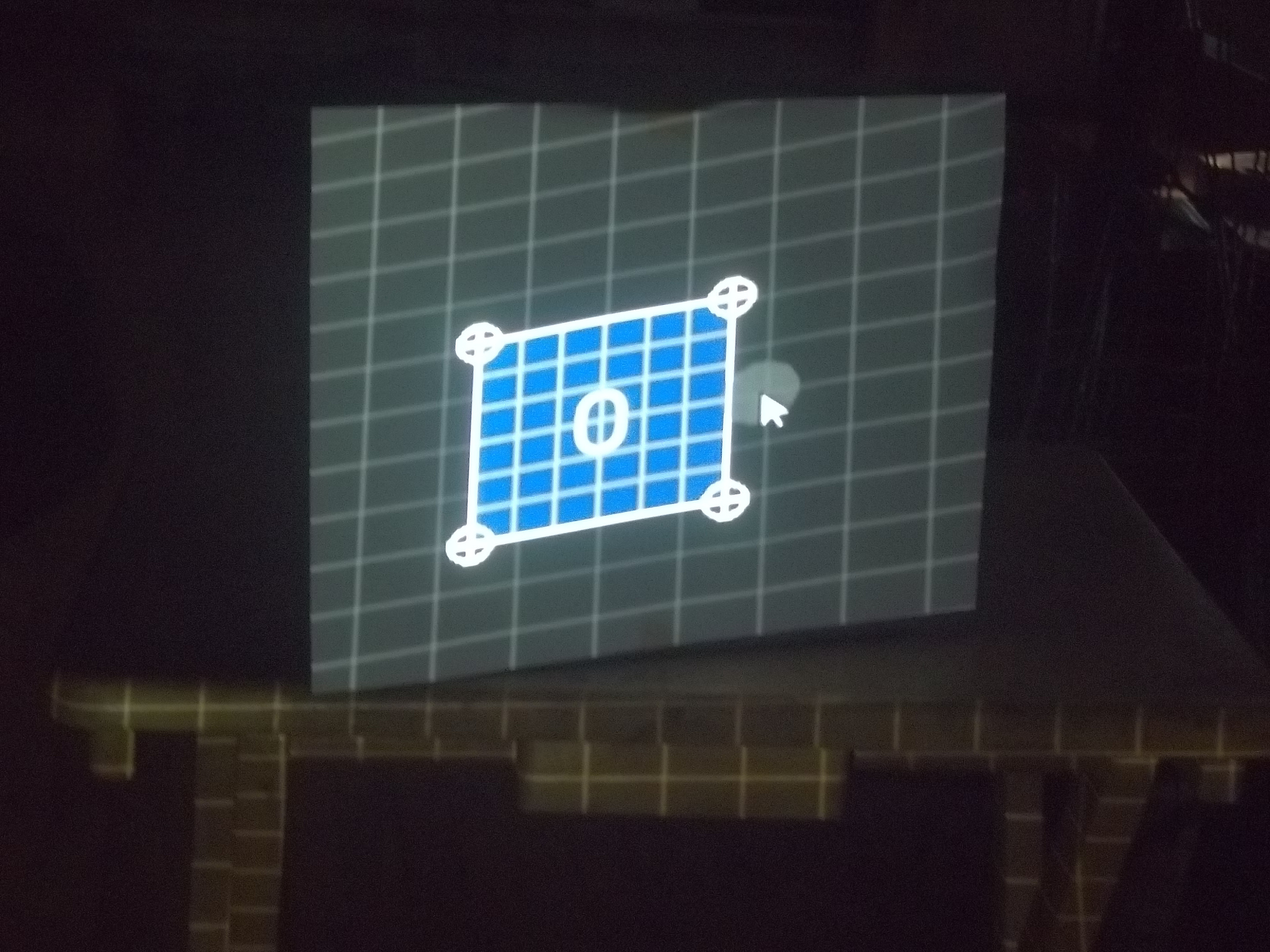 SurfaceMapperGUI - a simple Processing interface for projection